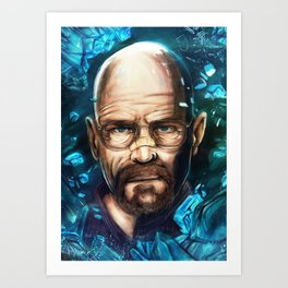 Breaking Bad - Walter White Art Print