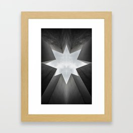 Berlin Series - Monochrome Symmetrical Photo Manipulation Framed Art Print