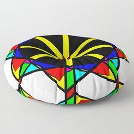 Flower mandala Floor Pillow