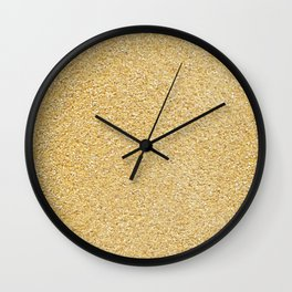 Corn meal. Background. Wall Clock
