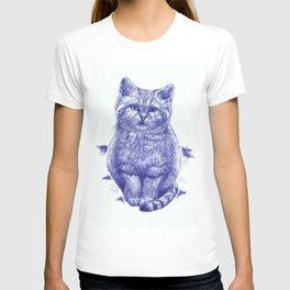 Staring cat T-shirt
