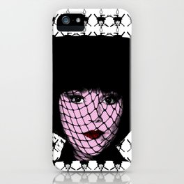 Clue - Mrs White - Flames iPhone Case