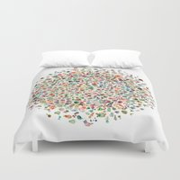 pi Duvet Covers featuring pi by koicoyfish