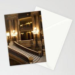 Palais Garnier Staircase -  Paris Opera House II Stationery Cards