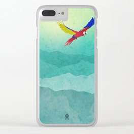 Macaw (Guacamaya) Clear iPhone Case