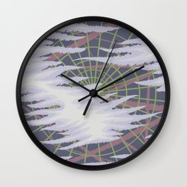 Forgetful (The Clouded Mind Refuses to Clear) Wall Clock