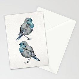 Little Blue Birds Stationery Cards