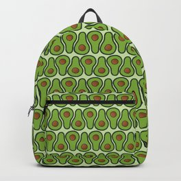 Avocado Doodle Pattern - Taco Series Backpack