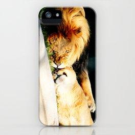 Cat Nap (Jungle Love) iPhone Case