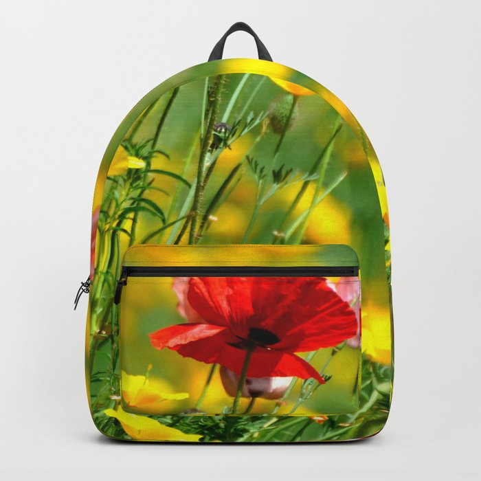 WILD POPPIES Backpack