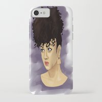 afro iPhone & iPod Cases featuring Afro by Adelys