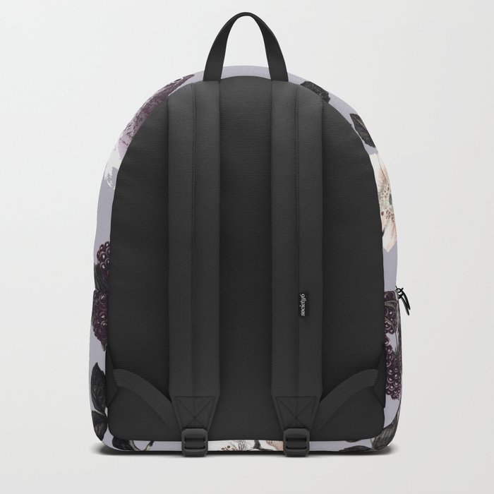 Birds and the Bees Blue Gray Backpack