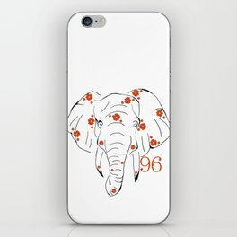 96 Elephants iPhone Skin