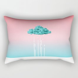 Concrete Cloud Rectangular Pillow
