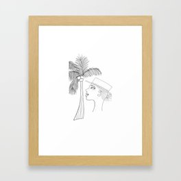 Girl from Ipanema Framed Art Print