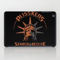 discount iPad Cases featuring Snake Plissken's Search & Rescue Pty. Ltd. by 6amcrisis