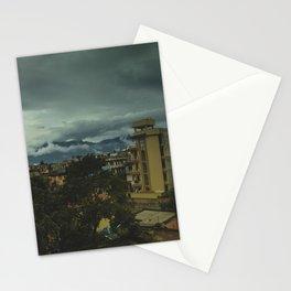 Kathmandu City Roof Top 002 Stationery Cards