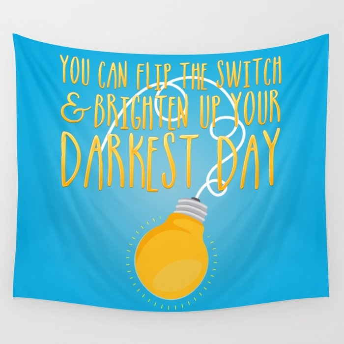 Flip the Switch Wall Tapestry