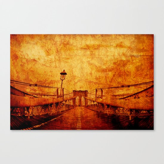 Brooklyn Burning Canvas Print