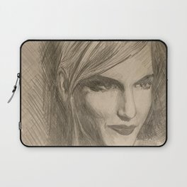 Home Decor Drawing Woman Digital Art Bedroom Decoration Original Wall Print Laptop Sleeve