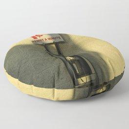 Long distance  Floor Pillow