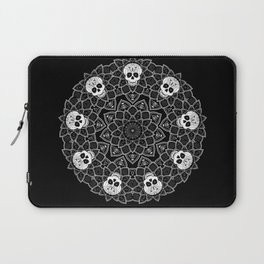 Bluegate Mandala 3 BlackWhite Laptop Sleeve