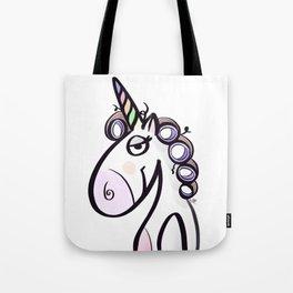 Unicorn Gladys Tote Bag