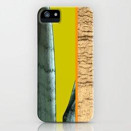 Gold Leaf Print iPhone Case