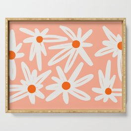 Happy Daisies Serving Tray