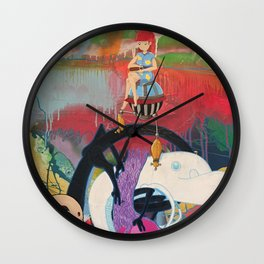 Utsuro Bune Wall Clock