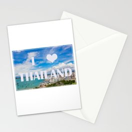 Thailand view point tourist attraction I love Thailand Stationery Cards