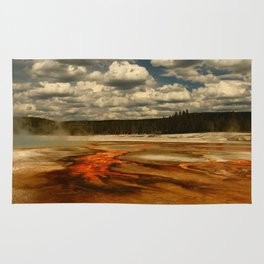 Hot And Colorful Thermal Area Rug
