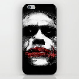The Joker - Movie Inspired Art iPhone Skin