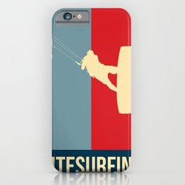 Kitesurfing Retro Design iPhone Case