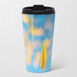 Yellow & blue Travel Mug