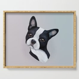 Boston Terrier Serving Tray