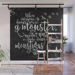 Six of Crows - Monster - Black Wall Mural