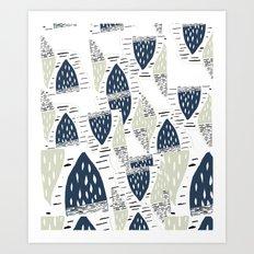 OAKY Dokey Art Print