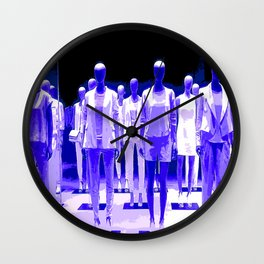 When Mannequins Attack Wall Clock