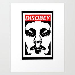 Disobey original logo 2 Art Print
