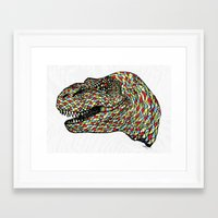 trex Framed Art Prints featuring Trex by Hngeb