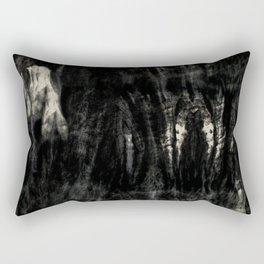 Dark tie dye Rectangular Pillow