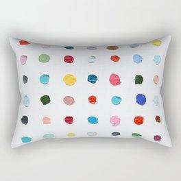 Infinite Polka Daubs Rectangular Pillow