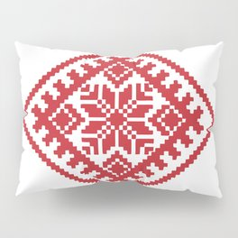 Latvian Traditional Sign Pillow Sham