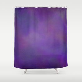 Abstract Soft Watercolor Gradient Ombre Blend 14 Dark Purple and Light Purple Shower Curtain