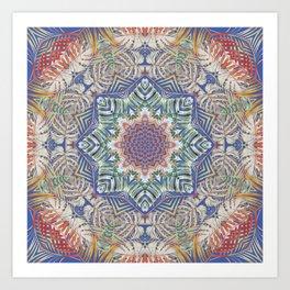 Jungle Kaleidoscope Art Print