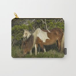 Chincoteague Foal No. 1 with Mother Carry-All Pouch