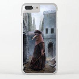 Plague Clear iPhone Case