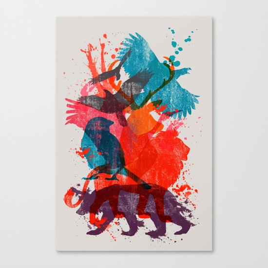 It's A Wild Thing Canvas Print