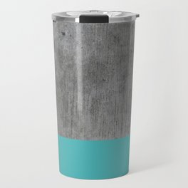 Concrete x Blue Travel Mug